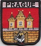 Prag Tschechische Republik Flagge Aufgestickt Patch Abzeichen