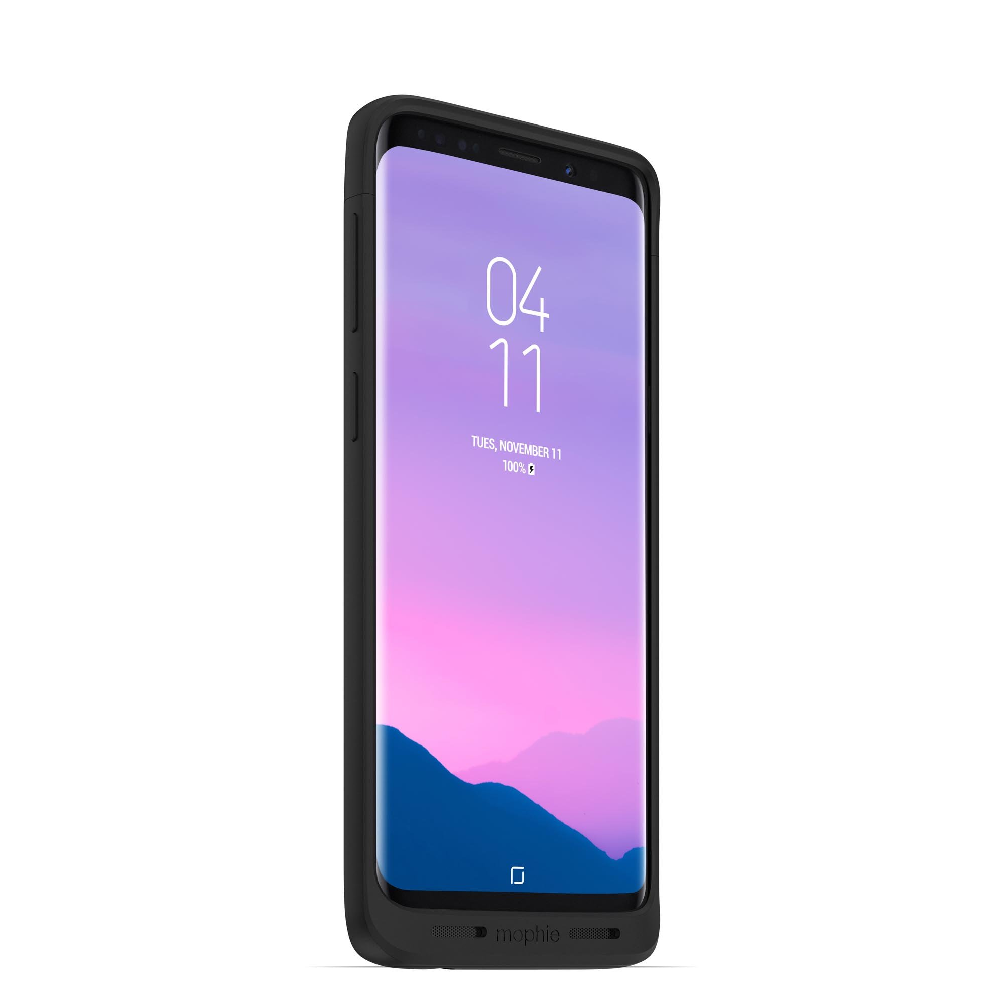 Juice Pack Made for Samsung Galaxy S9 - Wireless Charging Battery Case - Black by mophie (Image #5)