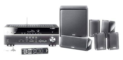 Yamaha YHT-3072-IN 5 1 Home Theatre System (Dolby Audio, DTS-HD, Bluetooth,  USB, 4K, 8 Inch Active Sub, Fm, HDCP 2 2)