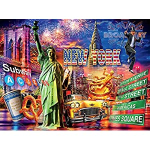 Ceaco Puzzle Cities Villes Ciudades New York 1000pcs New 3394 1
