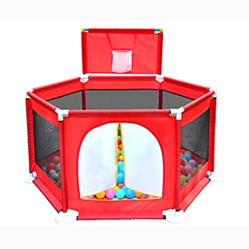 Amazon Com Foldable Baby Playpen Fence With Balls Indoor Outdoor