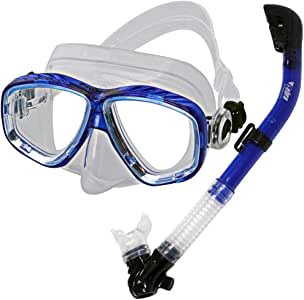 Promate – Snorkeling máscara de buceo de buceo snorkel gear set ...