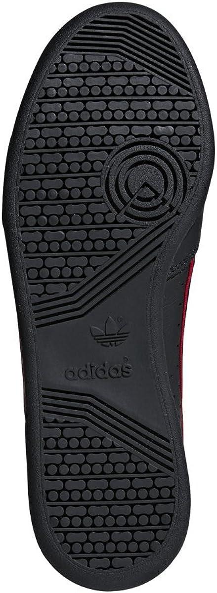 Adidas Continental 80 Chaussures Homme Noir Écarlate Bleu Marine
