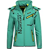 Geographical Norway Mujer Chaqueta Outdoor Softshell Romantic Turbo