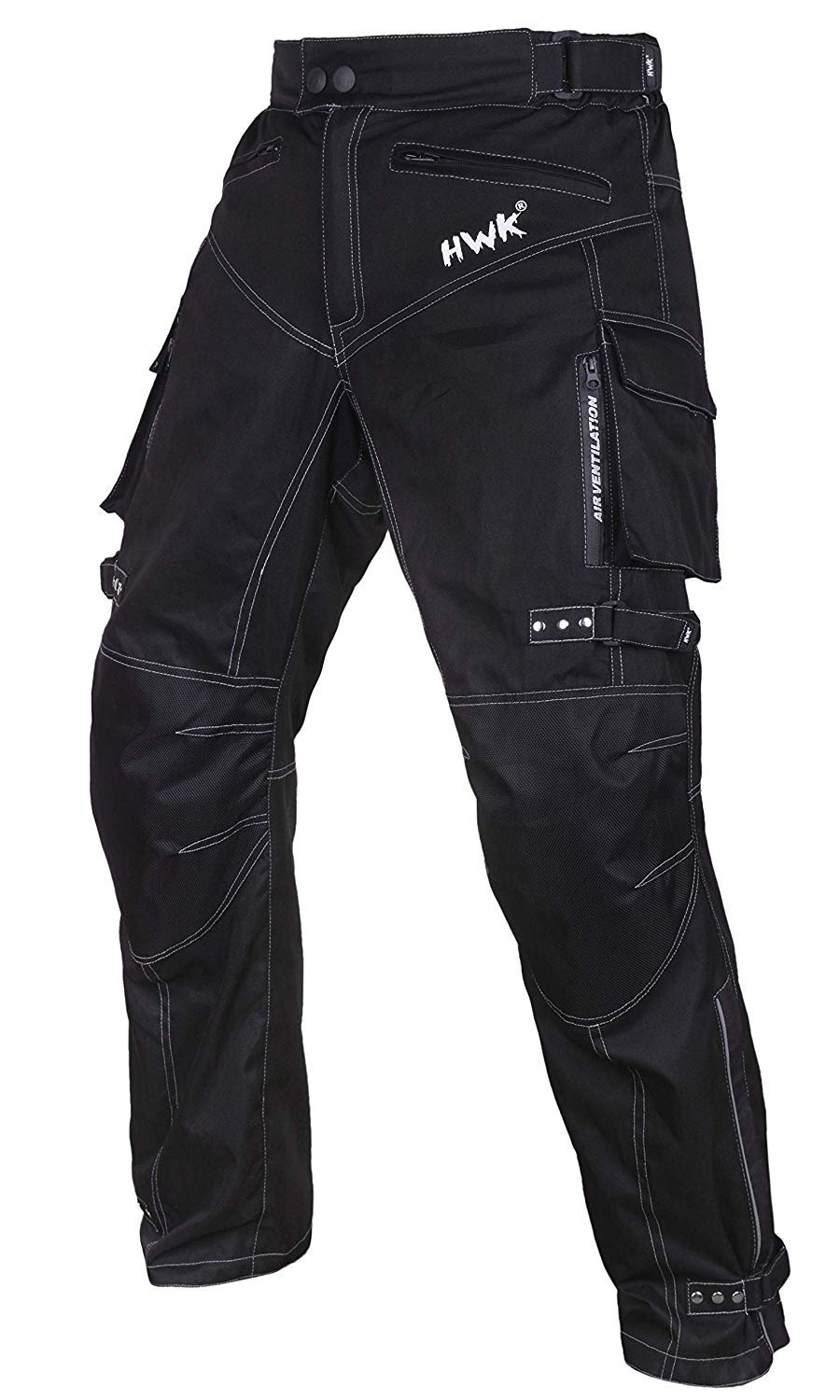Motorcycle Pants Motocross Moto Motorbike Riding Overpants Waterproof All-Weather Pants (Waist40''-42'' Inseam30'')