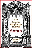 Talmud Sotah (Soncino Babylonian Talmud Book 28)