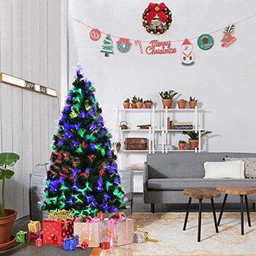 5 Ft Christmas Tree With Led Lights
