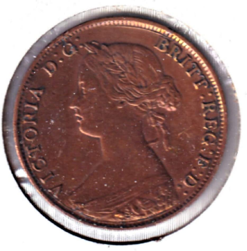 1861 New Brunswick 1-Cent VF-EF VF-30 #NB86