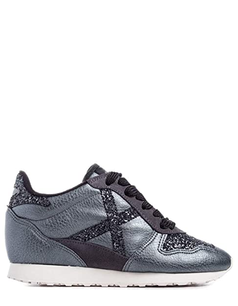 Munich Zapatillas cuña Cloud 19 (40 - Gris Claro)