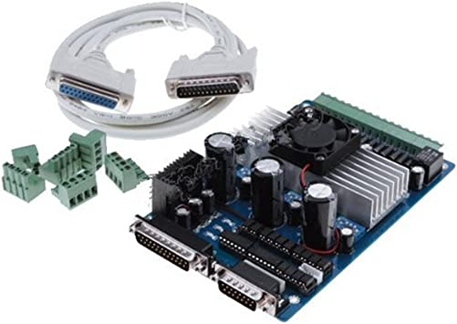 4 Axis CNC Stepper Motor Driver TB6560AHQ Board Controller Router Mach3 KCAM4