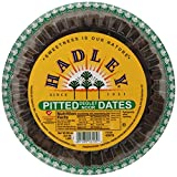 Hadley's since 1931 thermal California     Pitted Dates     3.5 lb container     Each  refrigerate after opening