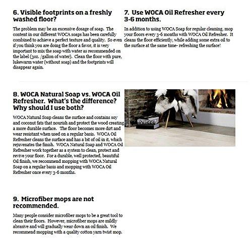 Woca Maintenance Sets 2.5 Liters (Natural 2.5 liters Sets) by Woca Denmark (Image #2)