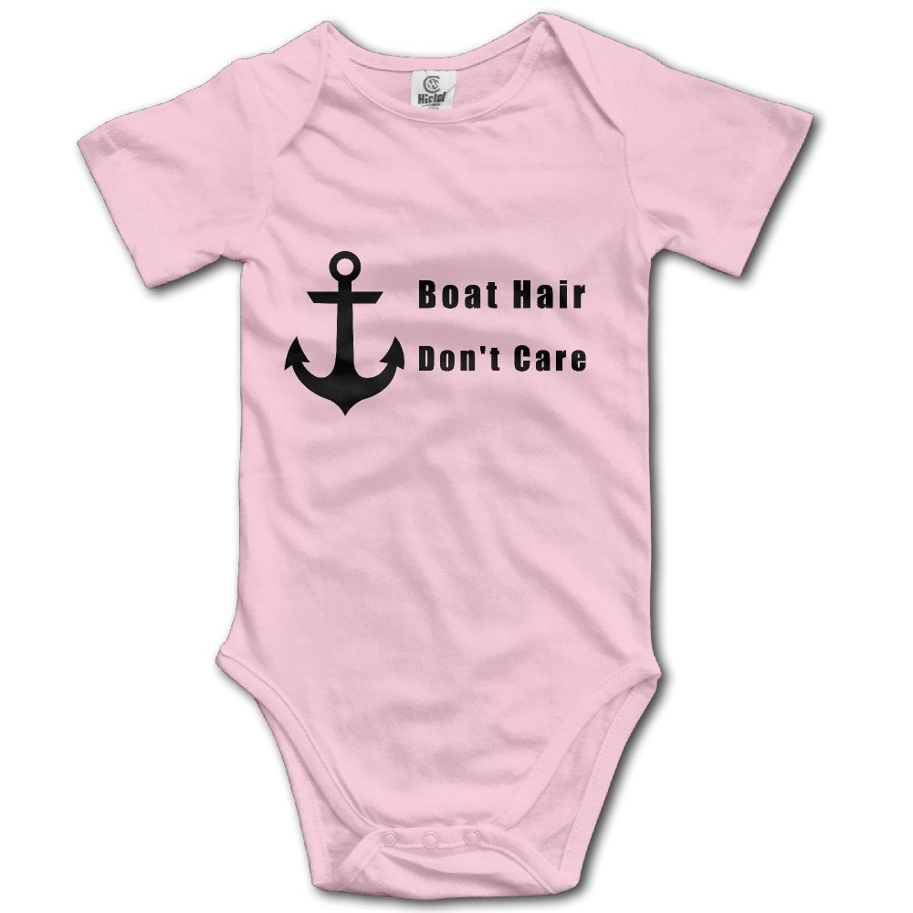 Don T Care Infant Baby Romper Boat Hair
