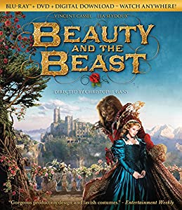 Cover Image for 'Beauty And The Beast [Blu-ray + DVD + Digital Download]'