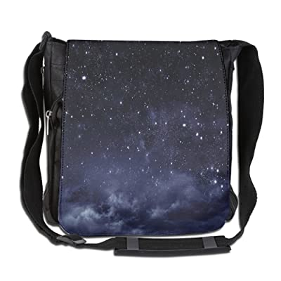 Lovebbag Ethereal View Of The Dark Sky Atmosphere Nebula Fantasy Cosmic Universe Theme Decorative Crossbody Messenger Bag