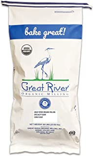 product image for Great River Organic Milling, Specialty Flour, Corn Flour, Stone Ground, Organic, Non-GMO, 50-Pounds (Pack of 1)