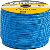 Corda Multifilamento Trançada 12 X 140 M, Azul, Em Carretel, Vonder Vdo2913 Vonder Azul