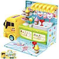 Little Story Ice-Cream Truck Shop , Multi color, Pack of 1