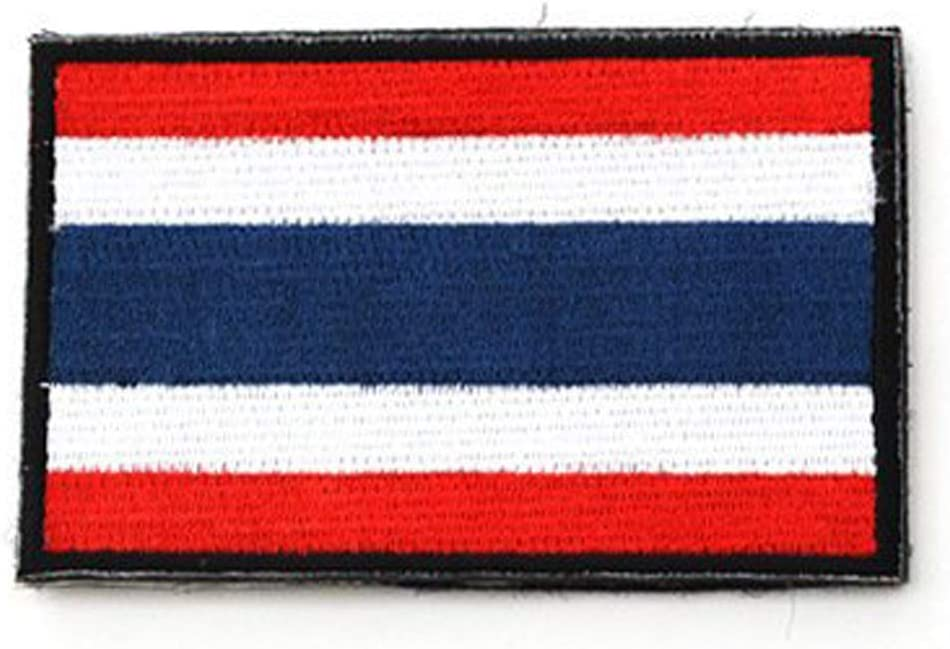 ShowPlus Angola Flag Patch Military Embroidered Tactical Patch Angola