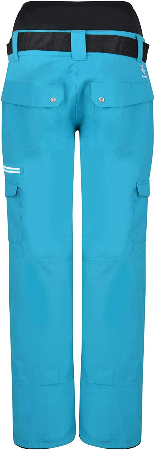 Dare 2b Liberty Pant Waterproof Breathable Loft Insulated High Waist Ski Snowboard Trouser With Integrated Snow Gaiters Pantalones De Esqui Mujer Pantalones Y Petos