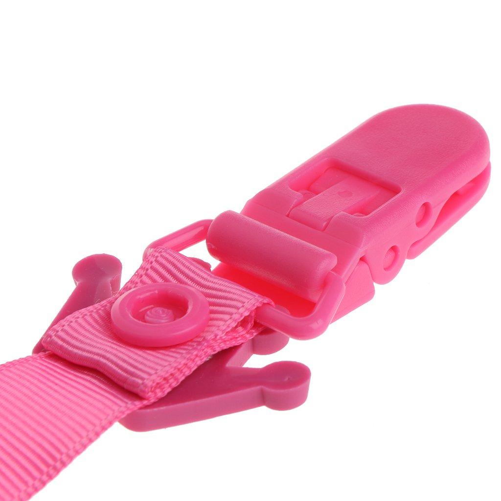 jiamins Baby Chupete Chupete con cadena corona patr/ón creativo rosa Rosa Talla:29cm/×1.8cm//11.41/×0.70
