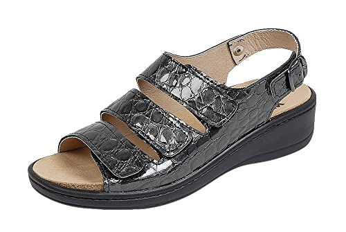 Zapatos grises Weeger para mujer voEaB7