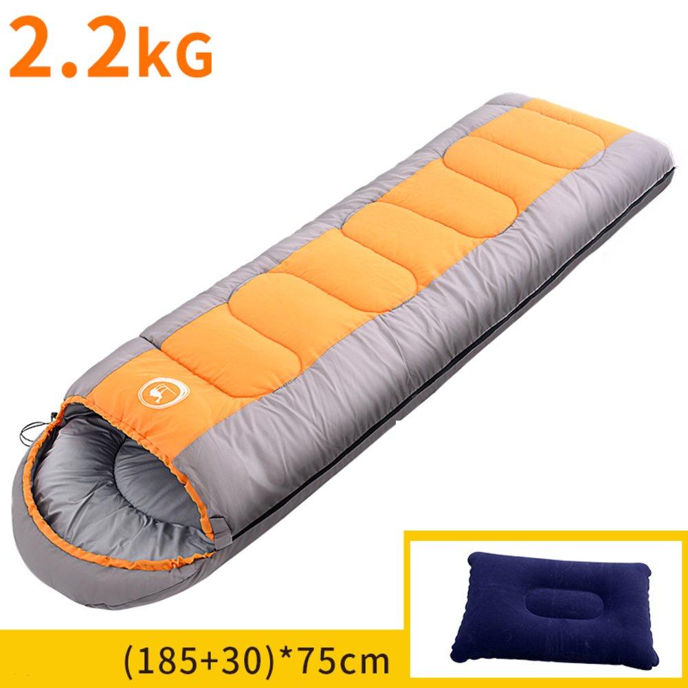 大人 寝袋屋外 キャンプに最適 ハイキング バックパックを背負って 軽量 オール シーズン 寝袋 シュラフ B07DR3PPWC 210x80cm(83x31inch)|L L 210x80cm(83x31inch)