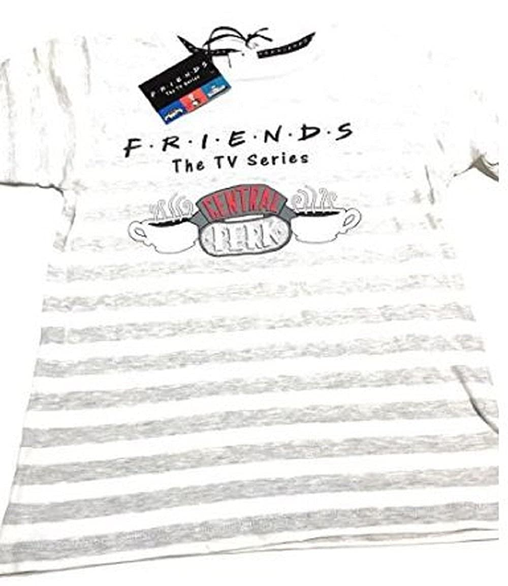 Primark Ladies Girls Womens Friends Central PERK Pajama Pyjama PJ T Shirt Set UK S-XL (UK S 6-8) at Amazon Womens Clothing store: