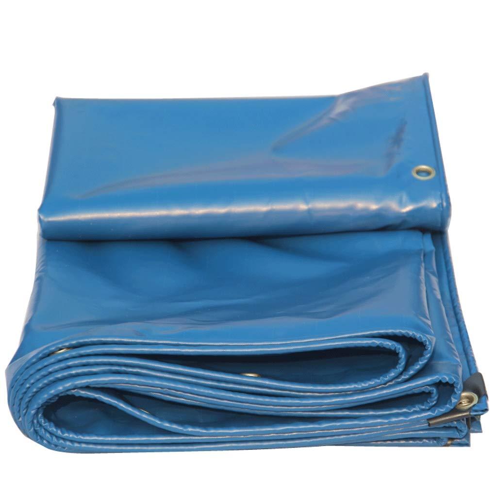 車の防水シートレインクロス日焼け止めキャンバスナイフスクレーピングトラックターポリン厚い防水防水ターポリン布 (色 : 青, サイズ さいず : 2*3) 2*3 青 B07MT4RGPJ