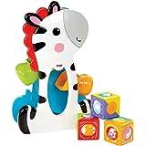 Fisher-Price Roller Blocks Tumblin' Zebra,Multicolor