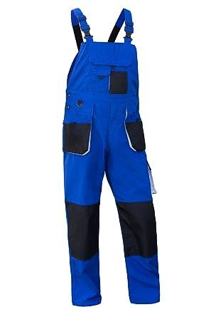 Arbeitshose Berufsbekleidung Kornblau Baumwolle QUALITEX Bundhose 270