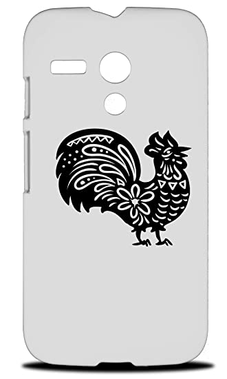 Amazon com: Chinese New Year Of Rooster Hard Phone Case