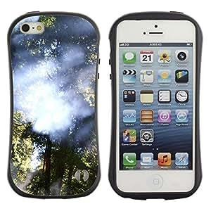 LASTONE PHONE CASE / Suave Silicona Caso Carcasa de Caucho Funda para Apple Iphone 5 / 5S / Plant Nature Forrest Flower 28