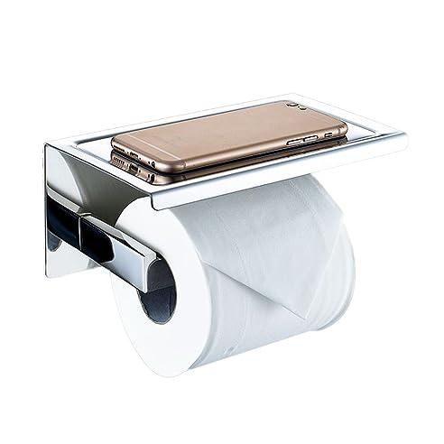 Toilettenpapierhalter Ohne Bohren, Wc-Rollenhalter Papierhalter +