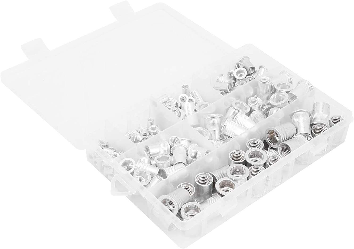 Switches Automobiles Insert Nutsert Firm and Durable Rivet Nut Aluminum Material for Elevators