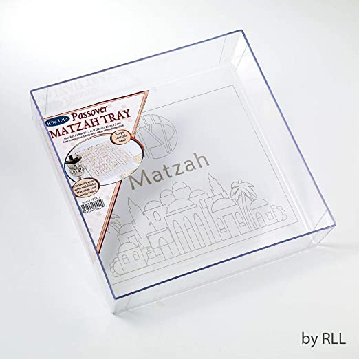 Rite-Lite Ltd Passover Acrylic Matzah Box