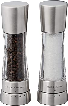 Cole & Mason H59408GUSA Derwent Salt and Pepper Grinder Set