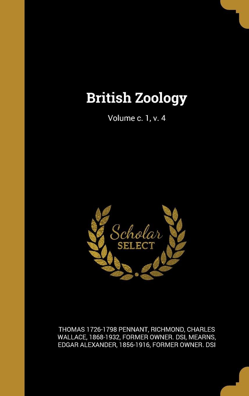 British Zoology; Volume C. 1, V. 4 PDF