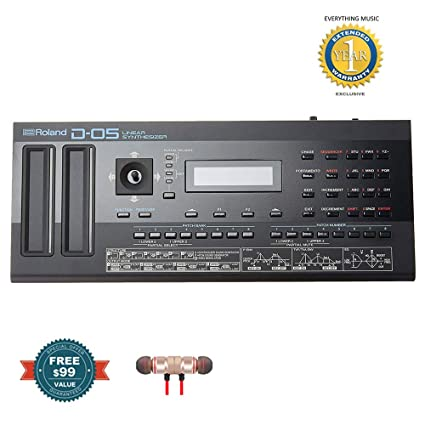 Amazon com: Roland D-05 Linear Synthesizer includes Free Wireless