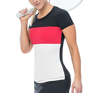 1f1ba7a2a46c Fila Women s Heritage Cap Sleeve Top Shirt at Amazon Women s ...