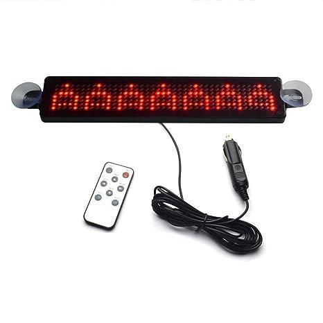 Outstanding Amazon Com Led Display Board Toogoo R 12V Car Led Programmable Wiring Database Liteviha4X4Andersnl