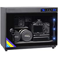 AUTENS 25L Electronic Dehumidify Dry Cabinet Box Anti-Mold Storage with Touchscreen, LED Light, Adjustable Shelves for Digital Camera Gear DSLR SLR Lens Equipment & Electrical Components