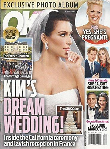 Kim Kardashian, Pink, Prince Harry and Cressida Bonas, George Clooney and Amal Alamuddin - May 19, 2014 OK! Magazine