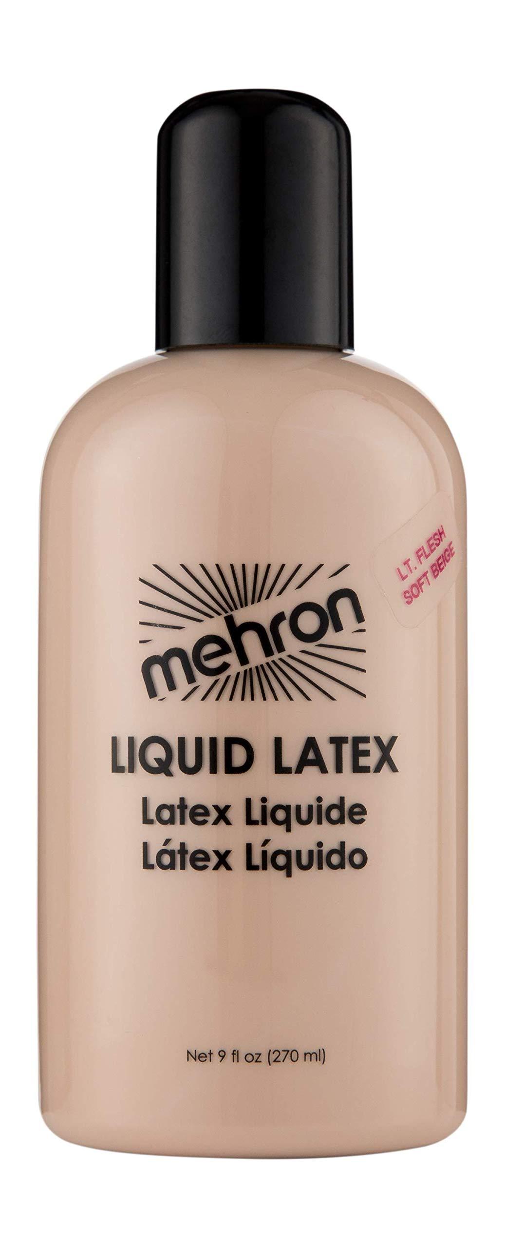 Mehron Makeup Liquid Latex (9 oz) (Light Flesh) by Mehron
