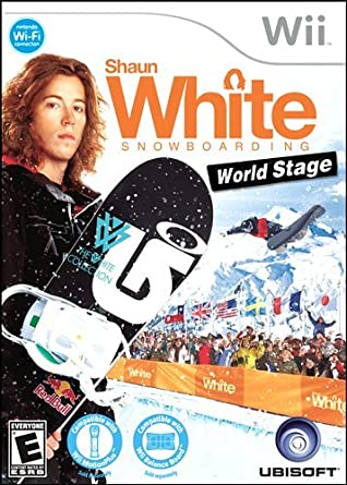 "Shaun White's video game ""Shaun White Snowboarding"""