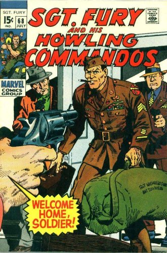 """Sgt. Fury and His Howling Commandos #68 """"On the Sidewalks of New York!"""""""