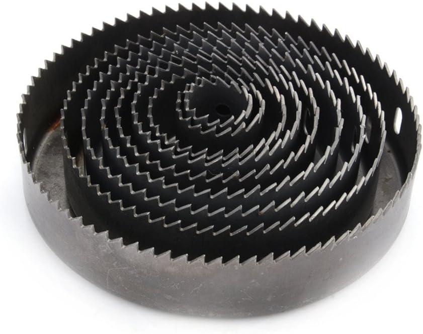 16Pcs Hole Circular Saw Drill Bit Kit Wood Plastic Sheet Metal Cut Out W//Case
