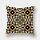 Custom Satin Pillowcase Protector Arabic Floral Seamless Pattern Traditional Arabic Islamic Background Mosque Decoration Element 445449676 Pillow Case Covers Decorative
