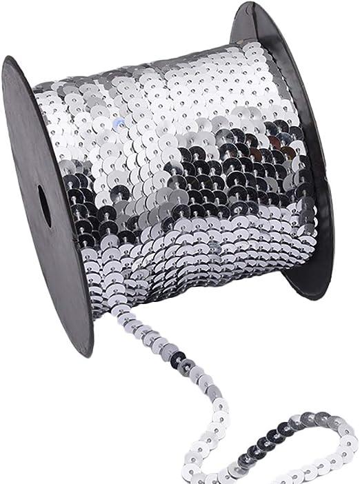 Weanty - Brillo de cinta de lentejuelas para coser confección ropa ...