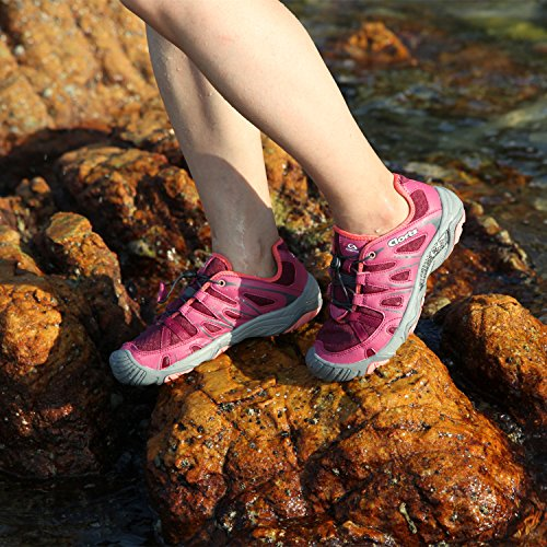 04b1f87c89ea well-wreapped Clorts Women s Closed Toe Amphibious Athletic Water Shoe  Quick Drying Sport Hiking Water